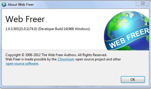 دانلود نسخه جدید مرورگر فیلترشکن web freer